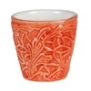 Mateus- Lace Mug 30cl - Mateus lace mug 30 cl orange