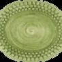 Mateus- Bubble Oval plate - mateu bubble oval platter 20 cm green