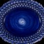 Mateus- Bubble Oval plate - mateu bubble oval platter 20 cm blue