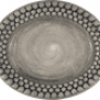 Mateus- Bubble Oval plate - mateu bubble oval platter 20 cm grey