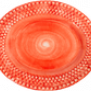 Mateus- Bubble Oval plate - mateu bubble oval platter 20 cm orange
