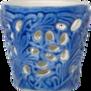 Mateus- Lace Candle holder 7 cm - mateus lace candle holder 7cm  light blue
