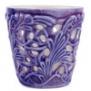 Mateus- Lace Candle holder 7 cm - mateus lace candle holder 7cm  purple