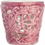 Mateus- Lace Candle holder 7 cm - mateus lace candle holder 7cm light pink