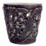 Mateus- Lace Candle holder 7 cm - mateus lace candle holder 7cm plum
