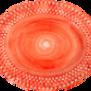 Mateus-Bubble oval platter 35cm - mateus bubble oval platter 35 cm orange