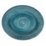 Mateus-Bubble oval platter 35cm - mateus bubble oval platter 35 cm ocean