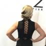 Anais & Joyce Festklänning med snörning i ryggen