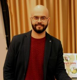 Ali Alabdallah,ledare för Nyhetscafe