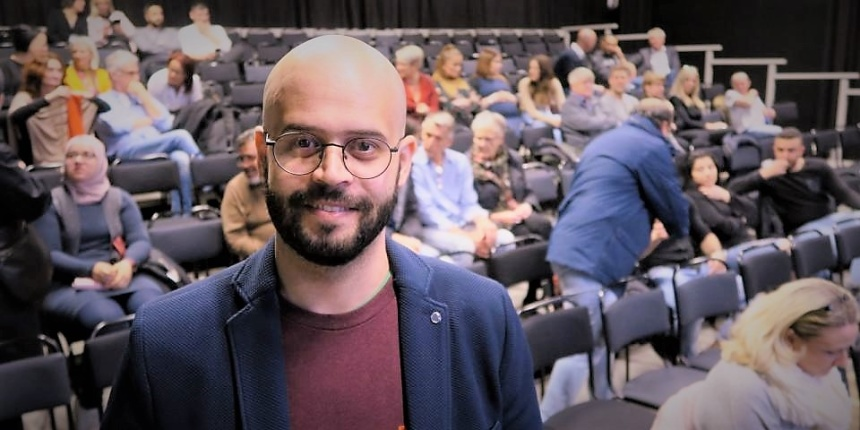 Ali Alabdallah, journalist, författare, grundare Ugarit for change