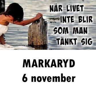 MARKARYD tis 6 november -