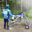 Endurokungen Micke Persson är en trogen kund till oss, roligt när Världsmästare väljer Bikewash.