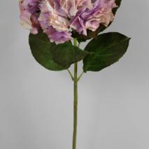 Hortensia lila vit 71cm - 6 pack