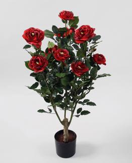 Ros träd röd 86cm - Styckpris