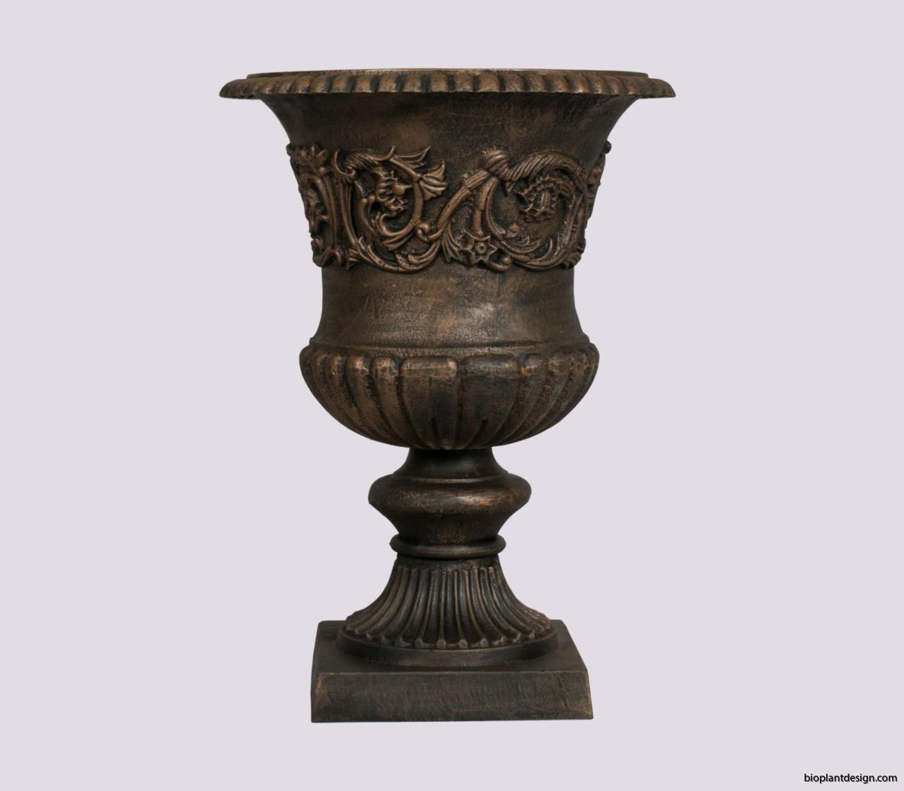 Koppar Hyacint h 61 cm Diam 44 cm Vikt 33. kg