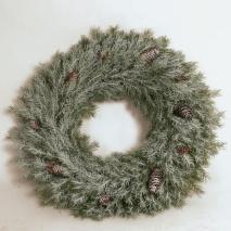 Julkrans i tall 45 cm