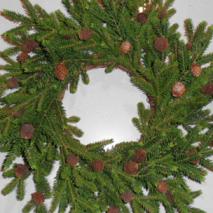 Julkrans med kottar 50 cm