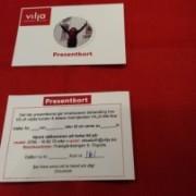 Presentkort, klippkort med rabatt. Hör av dig för hjälp med beställning, välkommen: 0706-168270, info(AT)vilja.biz