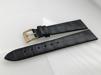 Äkta alligator - LOUISIANA - 20 mm svart