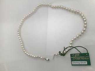 Pärlhalsband - LILJA - Pärlhalsband
