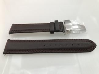 Band med viklås - SUNDSVALL - 18 mm, brun