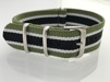 Natoband - DETROIT - 22 mm