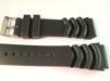Rejält gummi - MANCHESTER - 22 mm, svart