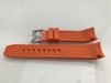 Gummi med Böjda ändar - CORK - 22 mm, orange