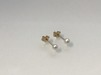 9 K örhängen i guld med Pärlor - VIOL