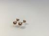 9 K örhängen i roséguld - GULLVIVA - 5 mm, rosé
