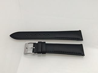 Stilfullt läderband - KARLSTAD - 17 mm