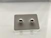 925 örhängen i silver - TUSSILAGO - 6 mm