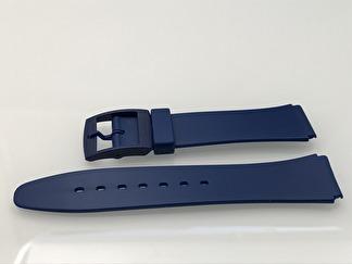 Blått gummiband - Outlet - 18 mm