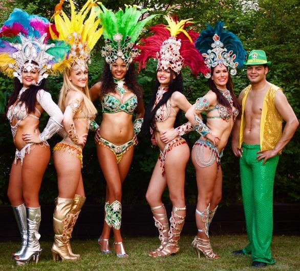 Samba Angels sambashow
