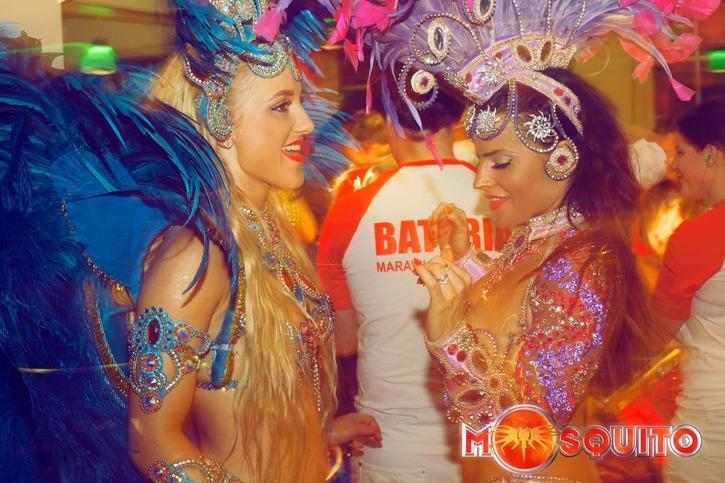 Samba Angels Connie och Angela.  Foto:Luella Billner