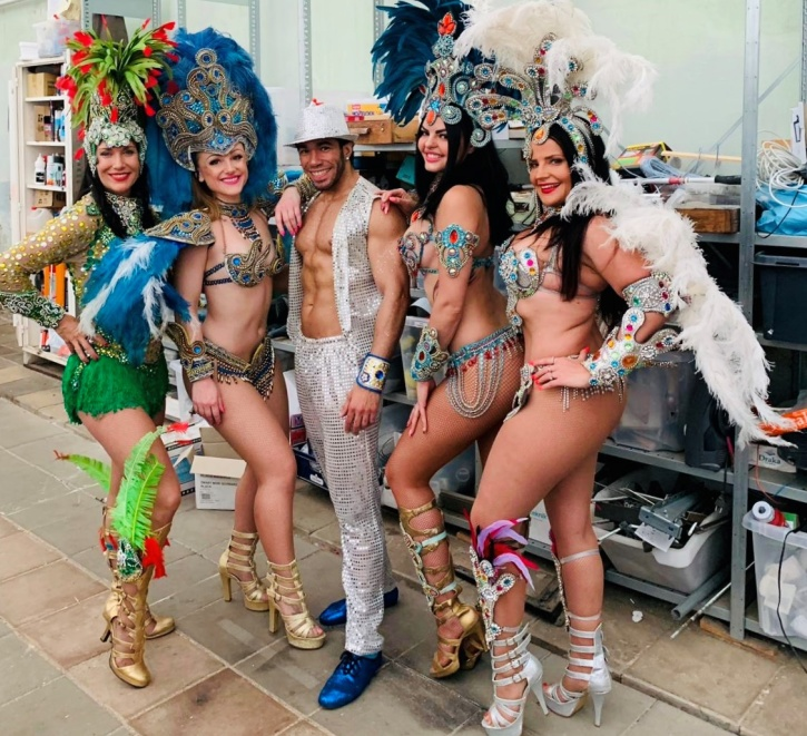 Backstage Samba Angels