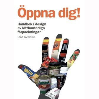 E-bok: Öppna dig! Handbok i design av lätthanterliga förpackningar. 2a upplagan