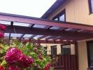 Nytt tak över altanen