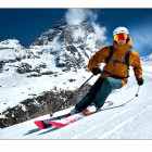Skiing-Ski-Skier-Cervinia-Matterhorn-Cervino-STS Alpresor- Photo-by-Fredrik Rege ©,-April 2018