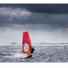Windsurfing: Photo by Fredrik Rege""