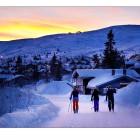 Trysil,Earlymorning,Skiing