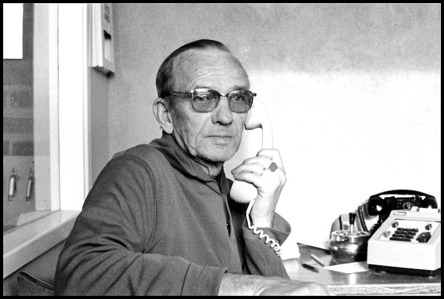 Bilden på Folke Sahlin togs på 1970-talet av Bertil Danielsson  /  Årjängs kommuns bildbank.