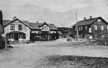 Årjäng i början av 1900-talet.