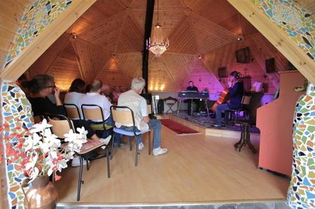Konsertlokalen i Domen