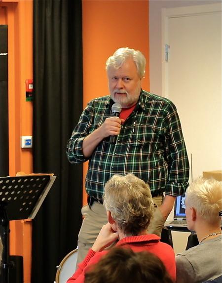Staffan Svanqvist presenterade sig.