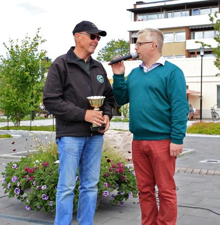 Kjell Eriksson tog hem priset för finaste europeiska bil med sin Jaguar.
