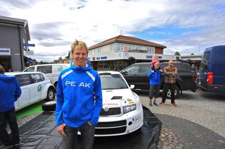 P G Andersson framgångsrik rallyförare från Årjäng.