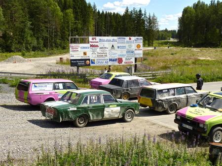 1 juli 2010 - Uppställning för start.