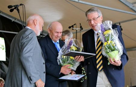 Årjängs kommuns kulturpris 2014 tilldelades Sven Emsell och Gösta Olofsson båda från Västra Fågelvik, för en stor kulturhistorisk gärning.