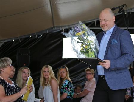 Årjängs kommuns ungdomsledarstipendium 2014 tilldelades Peter Lindeberg.